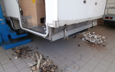 RIFACIMENTO PERIMETRO PORTE GARAGE E INTERNO